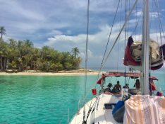 Recovering at sea, San Blas Islands