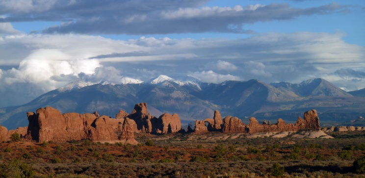 Red rock country, Arches National Park