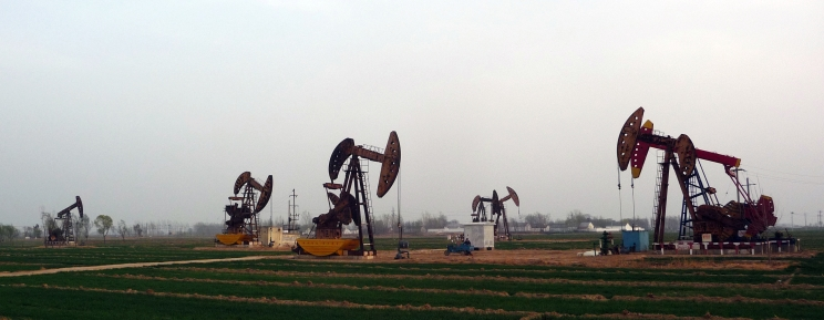 Oil in the ground